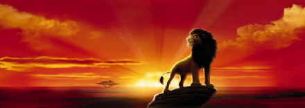 The Lion King Sunrise wall mural